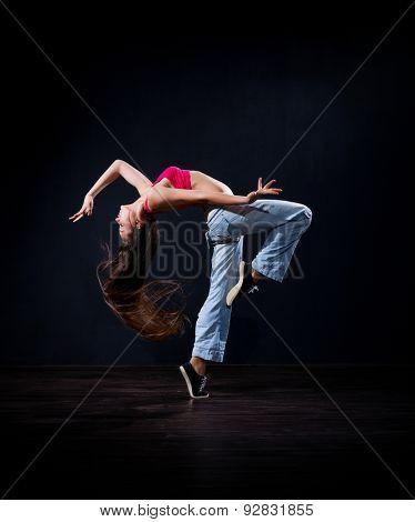 Modern dancer girl (normal version)