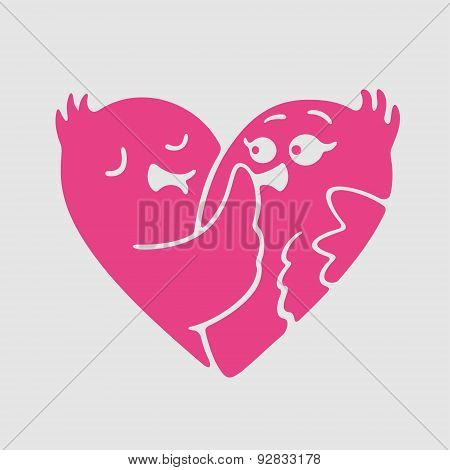 Vector Symbol of Love