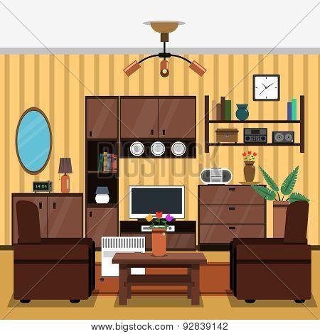 Interior Concept Flat