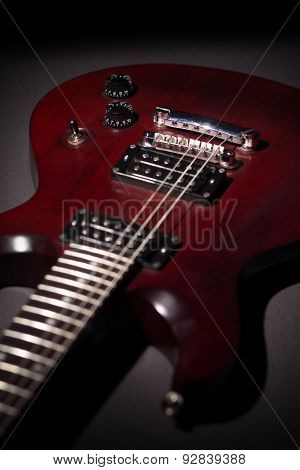 Electric Guitar Mahogany