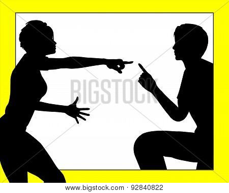 Dispute Among Couple
