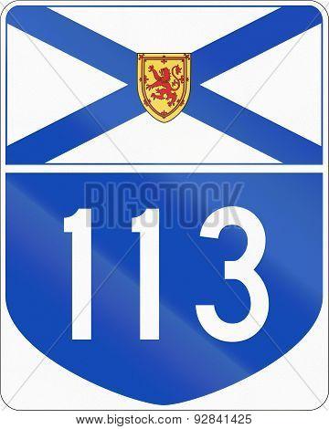 Nova Scotia Highway 113