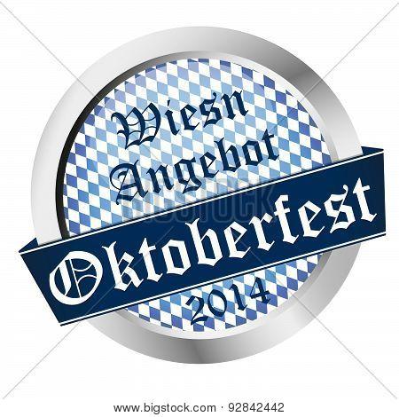 round Button Oktoberfest