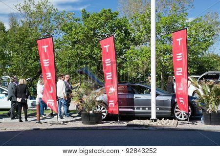 Tesla on green energy show