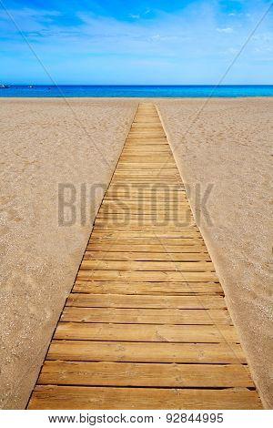Almeria Cabo de Gata San Jose beach of Spain