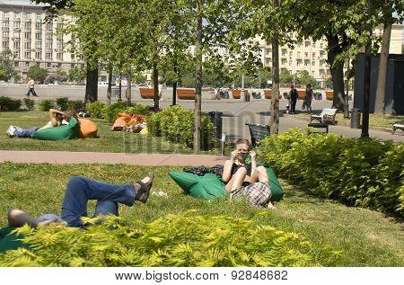 Moscow, Gorky Park