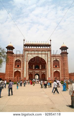 West Gate at Taj Mahal - India