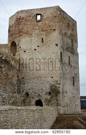 Ancient Russian Fortress- Izborsk Fortress, Pskov Region