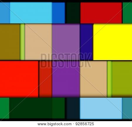 Squares background easy all editable