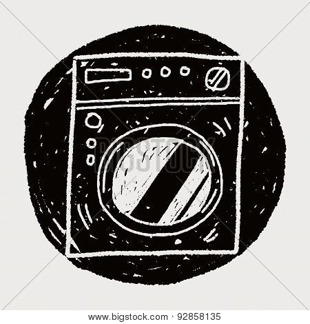 Washing Machine Doodle