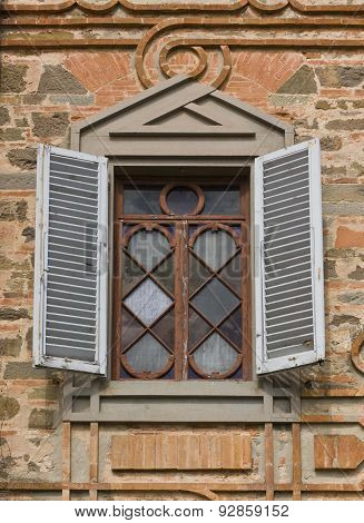 Ancient Window Close up