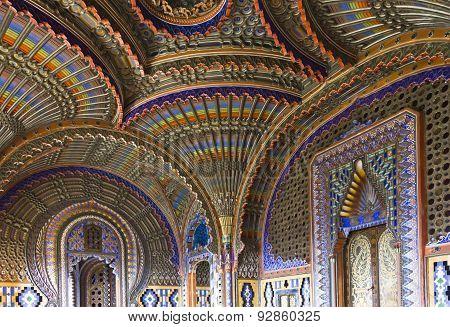 Peacock Room Inside The Sammezzano Castle