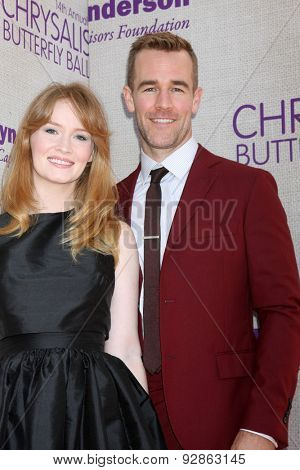 LOS ANGELES - JUN 6:  James Van Der Beek at the 14th Annual Chrysalis Butterfly Ball at the Private Residence on June 6, 2015 in Los Angeles, CA
