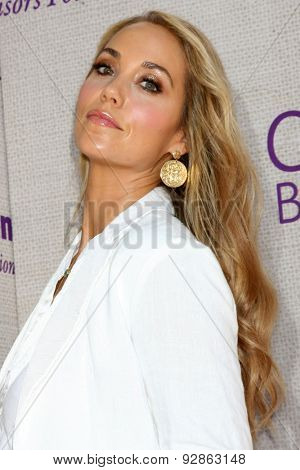 LOS ANGELES - JUN 6:  Elizabeth Berkley at the 14th Annual Chrysalis Butterfly Ball at the Private Residence on June 6, 2015 in Los Angeles, CA