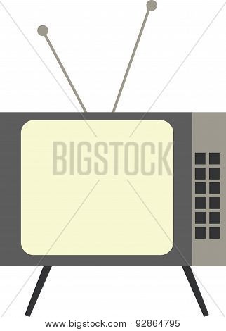 Vector Illustration Of A Television
