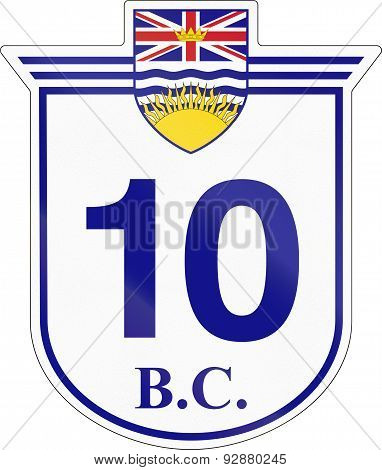 British Columbia Highway 10