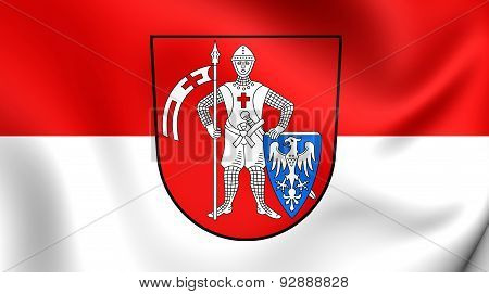 Flag Of The Bamberg, Germany.