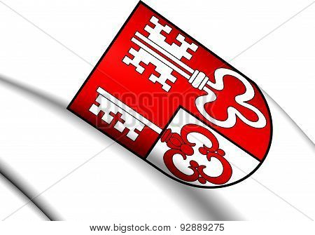Unterwalden Coat Of Arms, Switzerland.