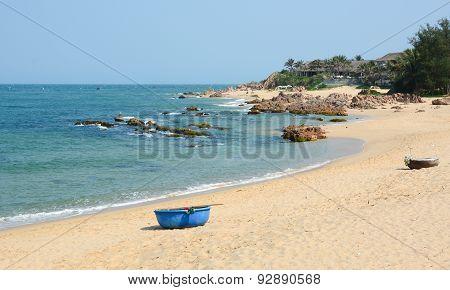 Tropical Beach At Nha Trang, Vietnam
