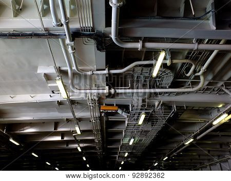 pipes on board