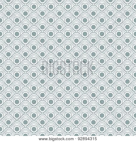 Geometric seamless waves pattern