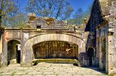 picture of manor  - The fireplace of Wycoller - JPG
