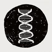 stock photo of gene  - Doodle Gene - JPG