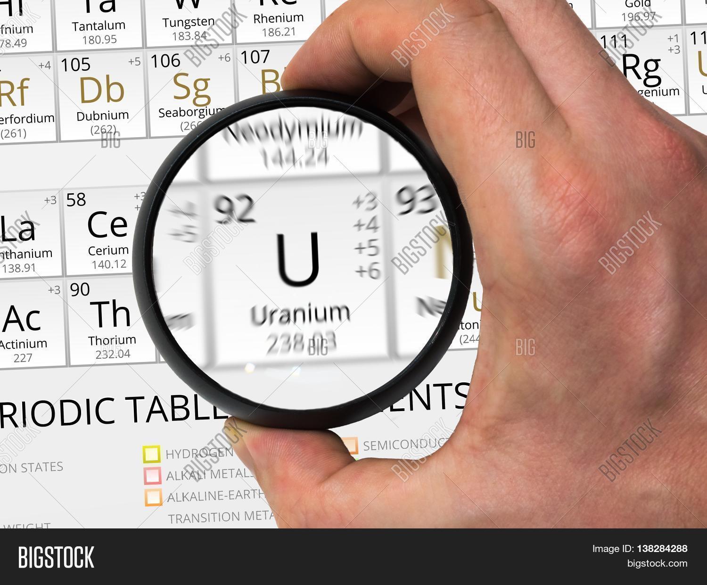 Uranium symbol u element of the periodic table zoomed with ma uranium symbol u element of the periodic table zoomed with ma gamestrikefo Choice Image