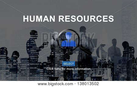 Human Resources Hiring Occupation Headhunting Concept