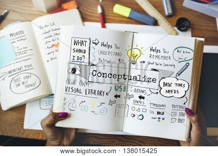 Conception Conceptual Conceptualize Ideas Plan Concept