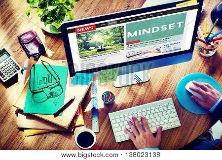 Mindset Positive Thinking Spiritual Attitude Concept