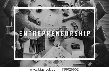 Entrepreneurship Investment Business Startup Risk Management Concept