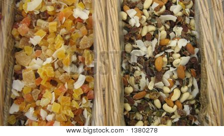 Dry Fruit And Nuts In Basket