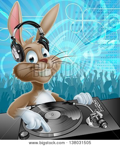 Easter Bunny Party Dj