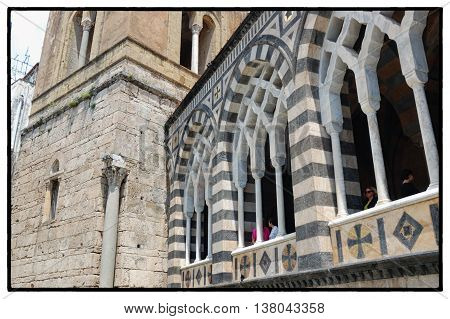 Amalfi, Salerno - The Ancient Cathedral (IXth Century)  - The