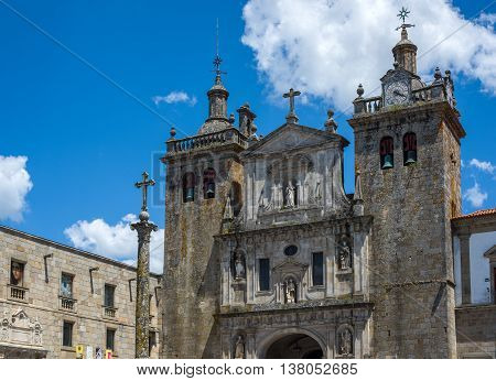 Se Cathedral Of Viseu. Portugal.