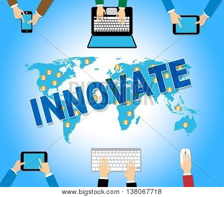 Innovate Online Indicates Web Site And Improve