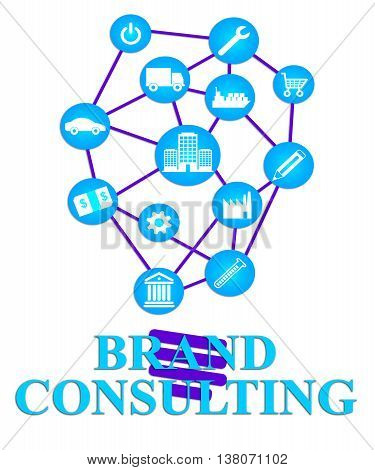 Brand Consulting Represents Seek Information And Advice