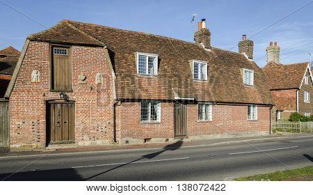 An historic building in the pretty village of Goudhurst Kent UK