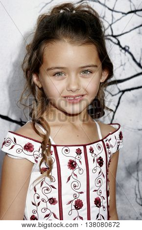 Shyann McClure at the Los Angeles premiere of 'Premonition' held at the Cinerama Dome in Hollywood, USA on March 12, 2007.