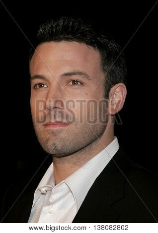 Ben Affleck at the Los Angeles premiere of 'Smokin' Aces' held at the Grauman's Chinese Theatre in Hollywood, USA on January 18, 2007.