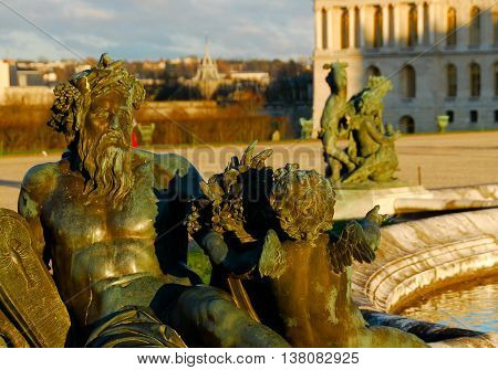 Versailles Palace Gardens - France