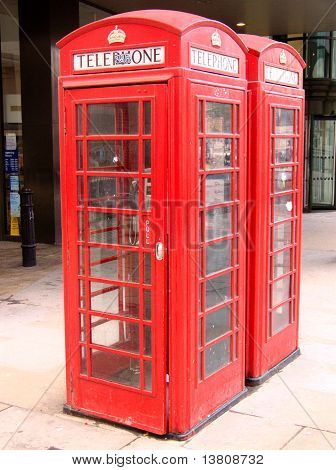 Phonebox in London