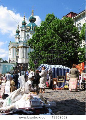 Andrey chute in Kiev city, Ukraine