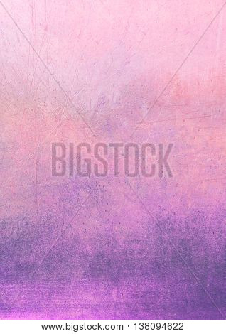 Dirty Gradient Pink And Purple Grunge Effect Textured Background