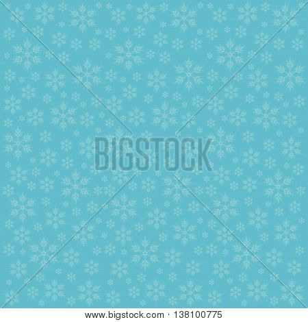 green background with snowflakes elegant blue illustration