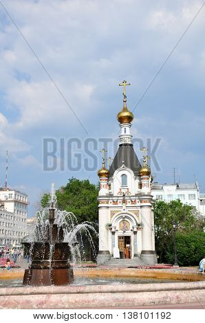 Religion Temple Orthodoxy Russia City Building Sky Architecture