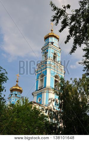 Religion Temple Orthodoxy Russia City Building Sky Old
