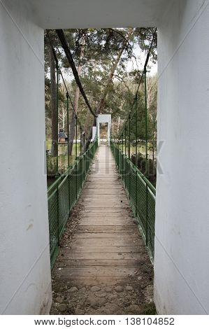 Bridge over the river in Soria, Castilla leon, Spain
