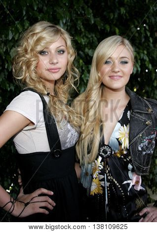 AJ Michalka and Aly Michalka at the 2006 Children's Choice Awards held at the Palladium in Hollywood, USA on May 11, 2006.